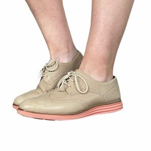 Cole Haan Leather Shortwing Oxford Sneaker 9.5